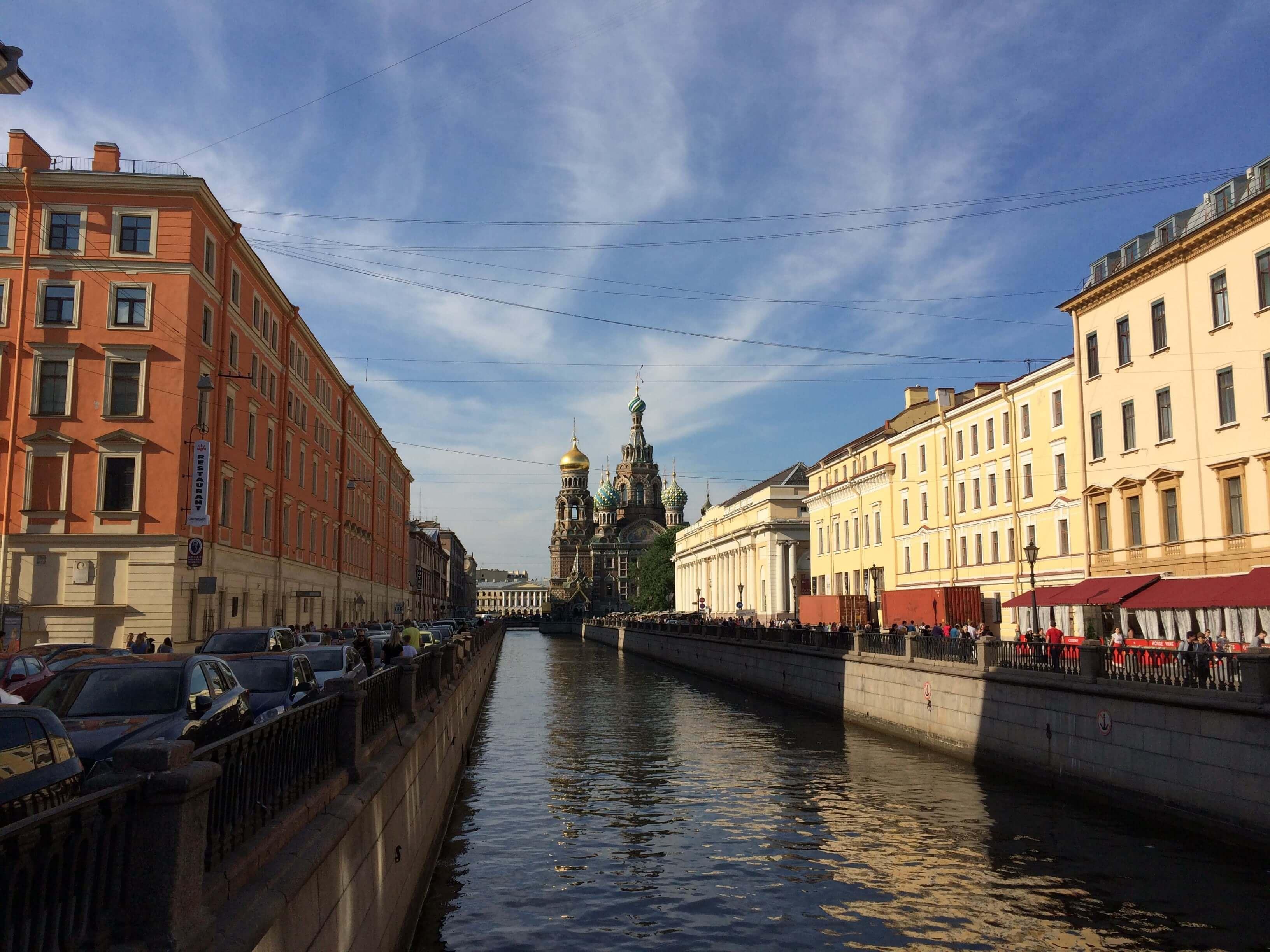 St Petersburg Canal Walk