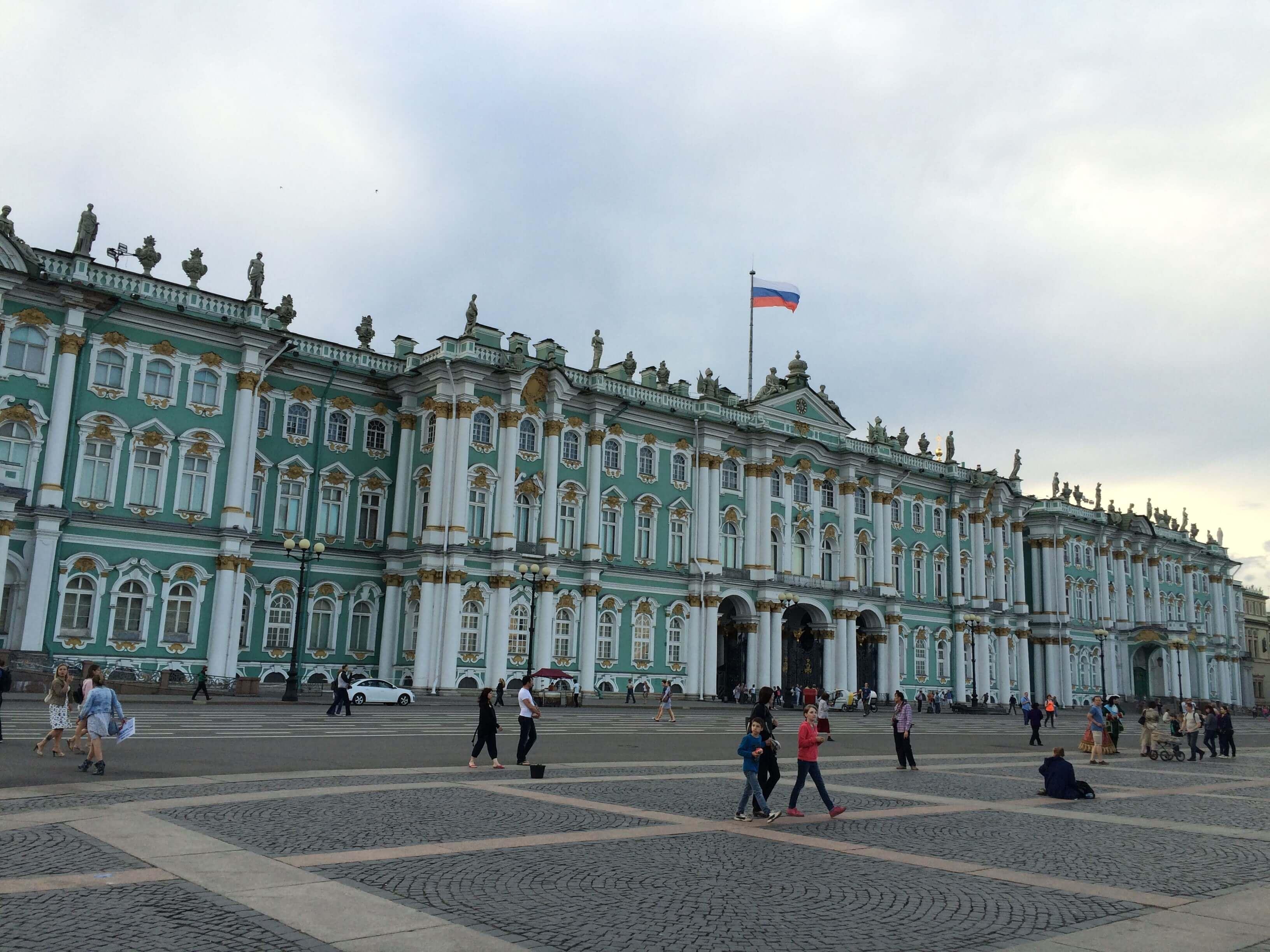 Cycling around St Petersburg